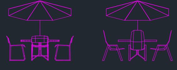 Thư viện cad bàn ghế