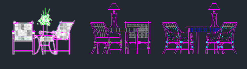 Thư viện bàn ghế: các loại bàn uống trà