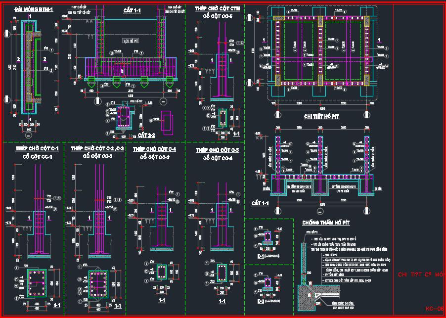 mẫu công trình kết cấu thép