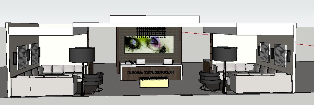 File sketchup nội thất văn phòng