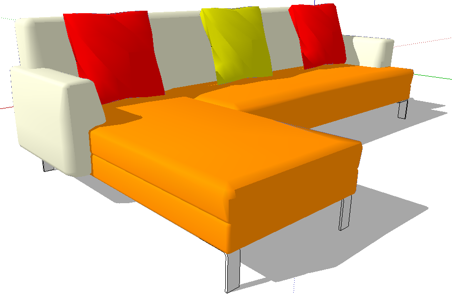 Thư viện ghế sofa SketchUp
