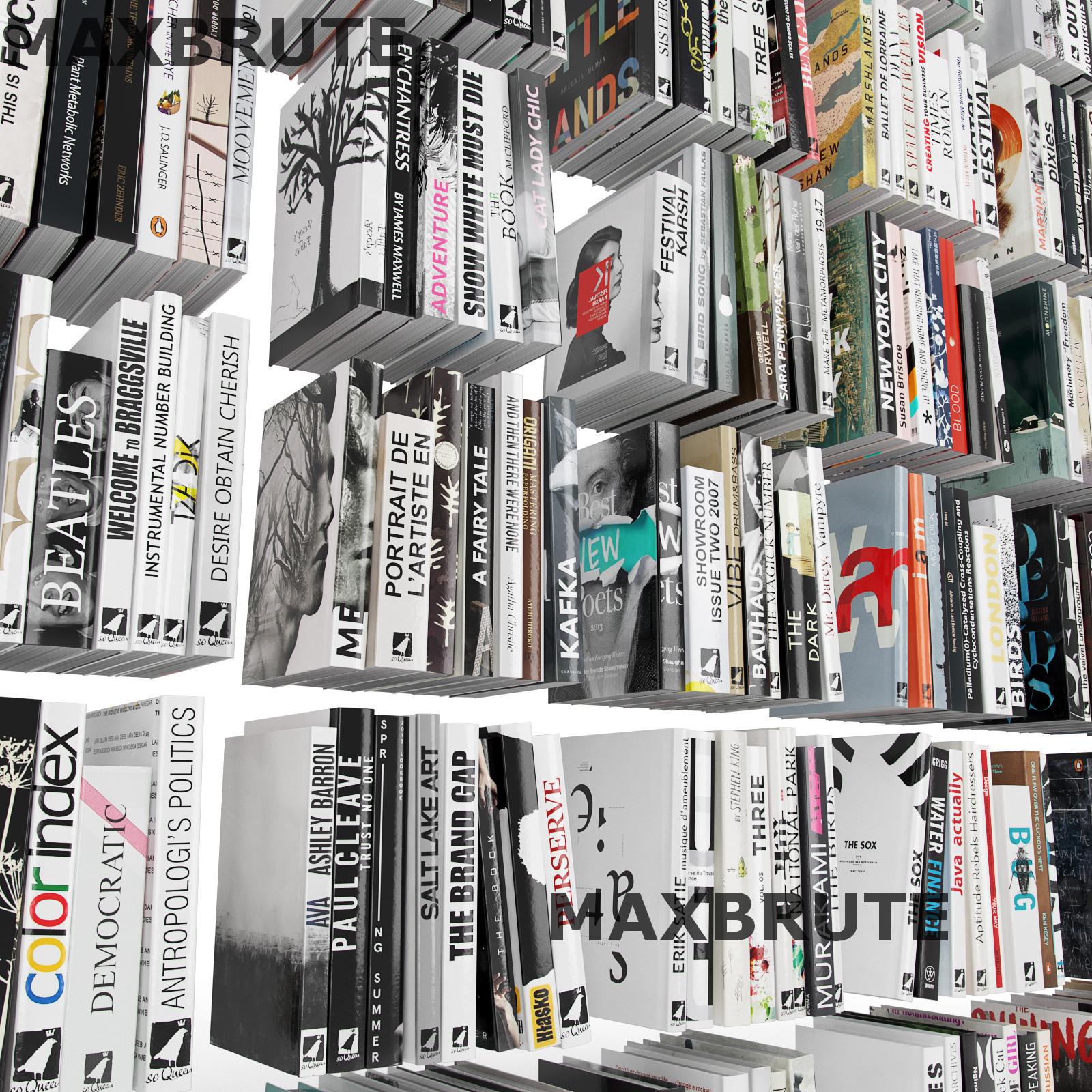 Thư viện sách 3dsmax mẫu 3