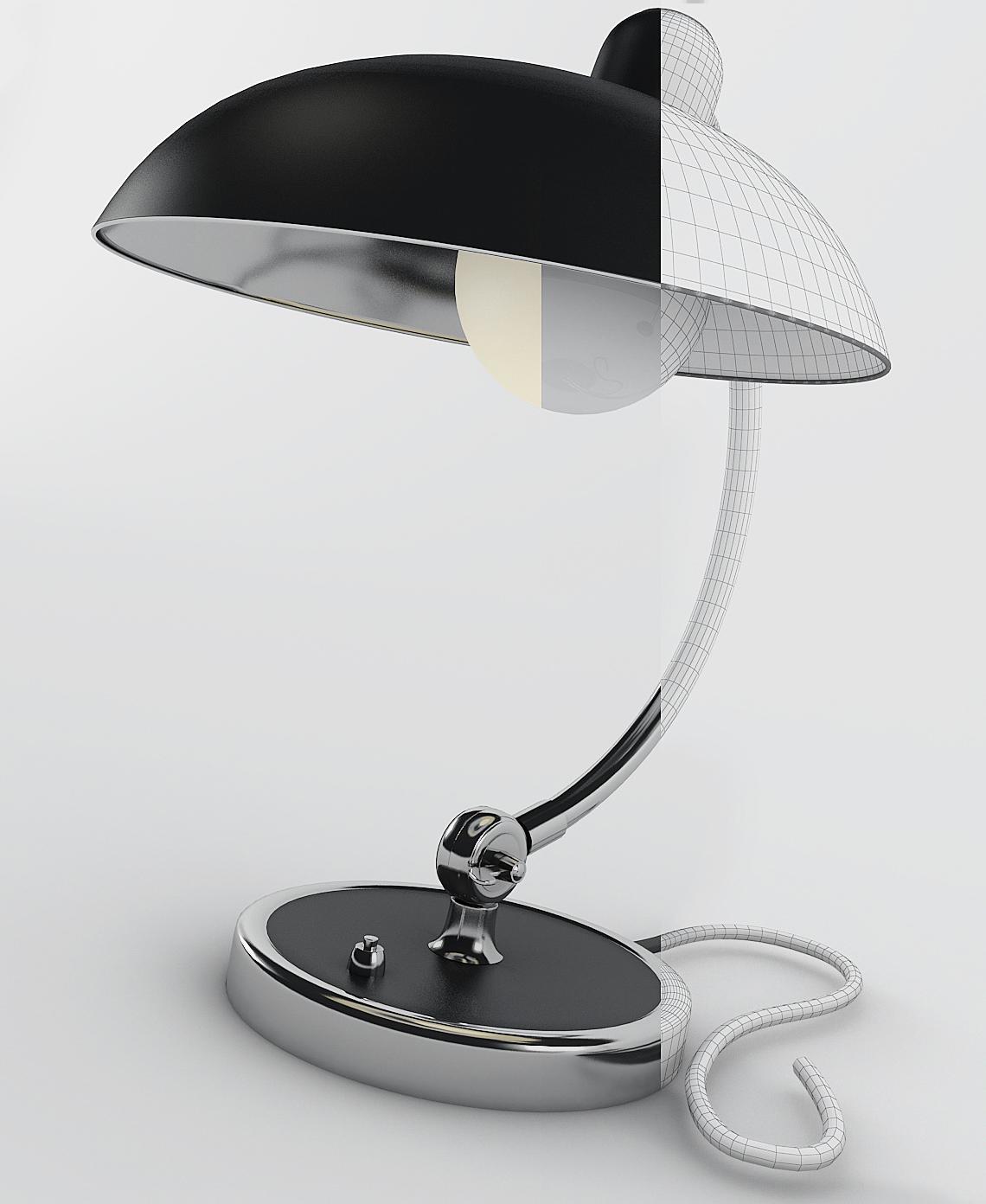 Thư viện đèn 3ds max đèn bàn