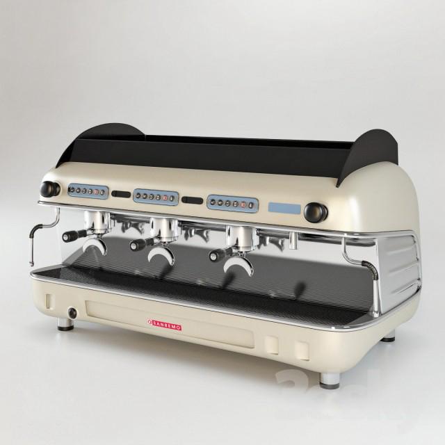 Thư viện 3dsmax thiết bị nhà bếp máy pha cà phê