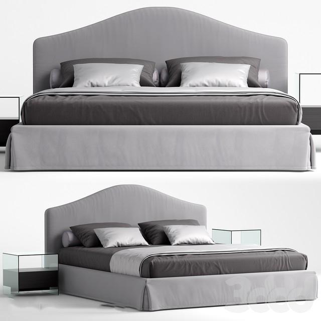 Thư viện giường 3dsmax mẫu 1