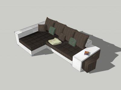 Thư viện sofa sketchup – Nhưng mẫu ghế sofa đẹp, độc nhất