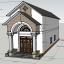 File sketchup nhà mái thái – Thiết kế chi tiết full kích thước