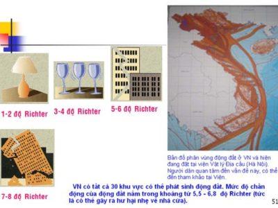 Tính toán động đất với kết cấu BTCT theo TCVN 375-2006