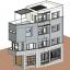 File revit nhà phố full 3 tầng hiện đại đẹp nhất