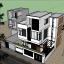 File SketchUp nhà phố 3 tầng – Thiết kế sang trọng cực hot
