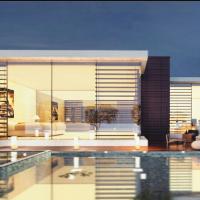 Tham khảo file sketchup biệt thự bể bơi cao cấp