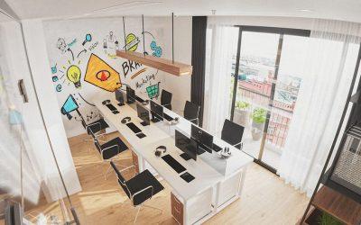 File 3dmax nội thất văn phòng làm việc hiện đại miễn phí