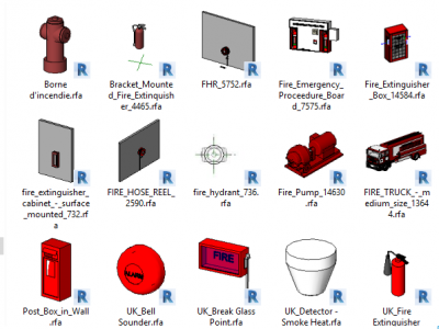 File revit pccc – thư viện revit pccc khủng nhất 2020