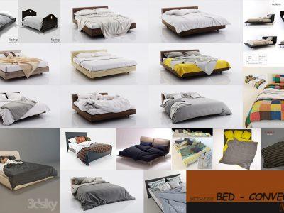Thư viện giường ngủ SketchUp – Các mẫu đẹp, thoải mái nhất