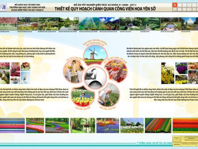 Đồ án quy hoạch cảnh quan công viên Hoa Yên Sở