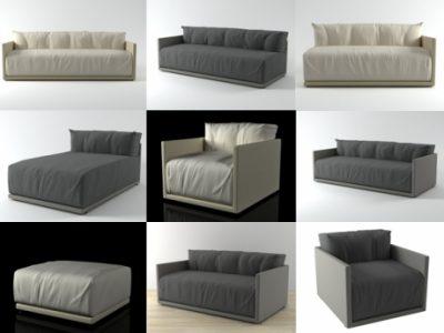 Thư viện sofa 3ds max chuyên dùng cho thiết kế